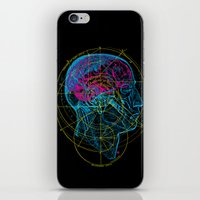 Anatomy Brain iPhone & iPod Skin