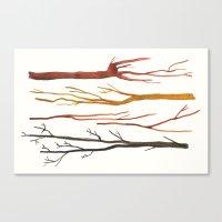 Moleskine Sticks Canvas Print