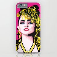 iPhone & iPod Case featuring Virgin-like girl by carré offensif
