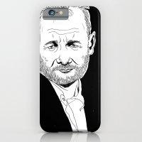 bill murray iPhone & iPod Cases featuring Bill Murray by allison ranieri