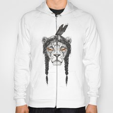 Warrior lion Hoody