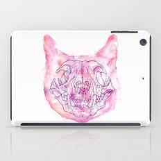 happy skeleton iPad Case