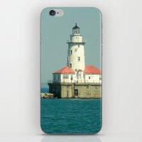 Chicago Lighthouse iPhone & iPod Skin