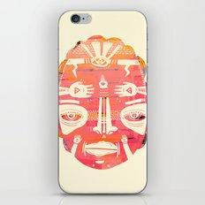 Cloud Face I iPhone & iPod Skin