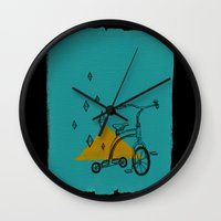 confidant I. (tricycle) Wall Clock