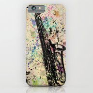 iPhone & iPod Case featuring Sax-1 by Del Vecchio Art By A…