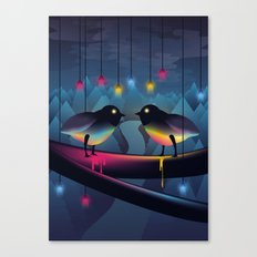 Disco Love Canvas Print