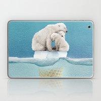 polar ice cream cap 02 Laptop & iPad Skin