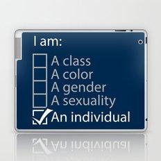 I am an individual. Laptop & iPad Skin