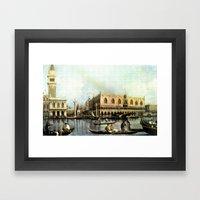 Return Of The Bucintoro … Framed Art Print