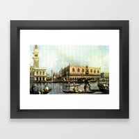 Return Of The Bucintoro … Framed Art Print