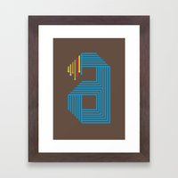 A like A Framed Art Print