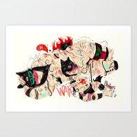 Wolfmother Art Print