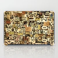 Alphabet iPad Case