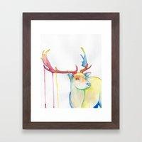 Elk Framed Art Print