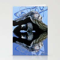 Blue Turtle Stationery Cards
