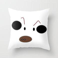 Jensen's Cartoon Cow Throw Pillow