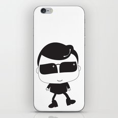 Not A Boy iPhone & iPod Skin
