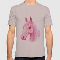 Year Of The Horse Mens Fitted Tee Cinder SMALL