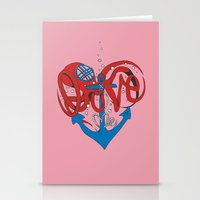 Deeply in Love Stationery Cards