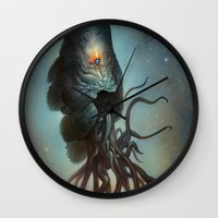 Yawanpok the Void Menace Wall Clock
