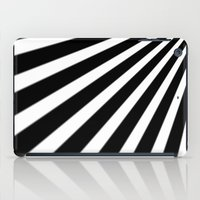 Black And White Stripes iPad Case