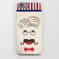 iPhone & iPod Case featuring Barbershop Wisdom by Shakeel