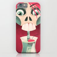 iPhone & iPod Case featuring The Deadliest Sip by Pizza! Pizza! Pizza!