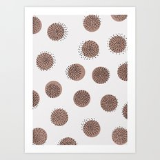 Dots Over Dots Art Print