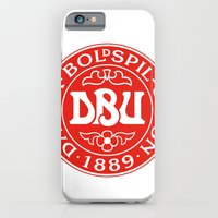 iPhone & iPod Case featuring Denmark Football by The Voetbal Factory