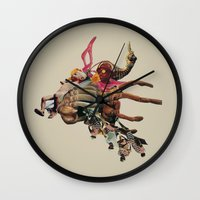Night Shifting Shadows Wall Clock