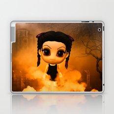 Chibigirl Wednesdays Haunted House Laptop & iPad Skin