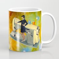 Barbara's Spaceship Mug