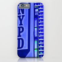 iPhone & iPod Case featuring NYPD by Karol Livote