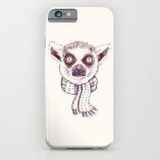 Lemur and scarf  iPhone 6s Slim Case