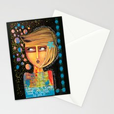 happiness is always there Stationery Cards