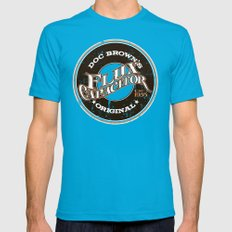 Doc's Original Flux Capacitor Mens Fitted Tee Teal SMALL