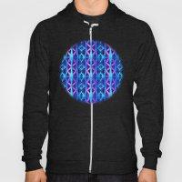 Blue/Purple Metallic Pattern Hoody