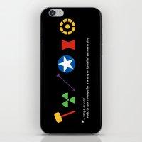 Assemble! iPhone & iPod Skin