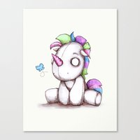 My Little Plushy Canvas Print