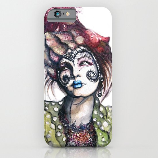 Great Expectations // Fashion Illustration iPhone & iPod Case