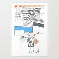 santiago2 Art Print