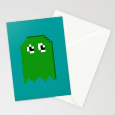 Pac Man Enemy  Stationery Cards