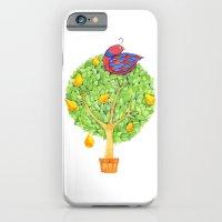 Partridge In A Pear Tree iPhone 6 Slim Case