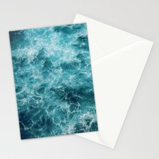 Blue Ocean Waves Stationery Cards