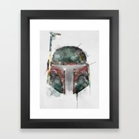 Star Hunter Framed Art Print
