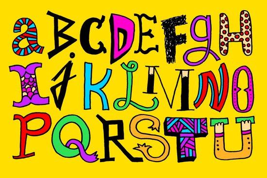 ...V, W, X, Y, Z Canvas Print