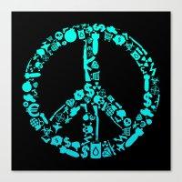 War Is Peace Canvas Print