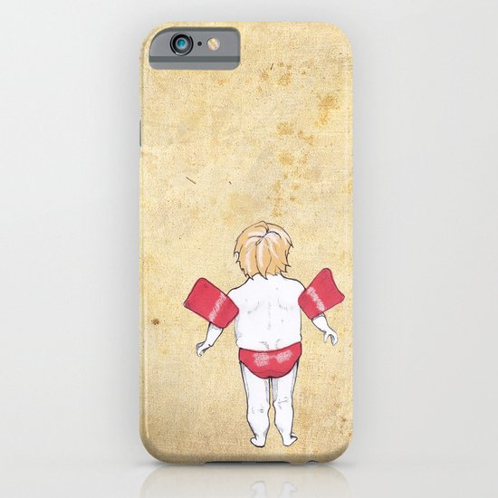 Would the next Michael Phelps please stand up? iPhone & iPod Case