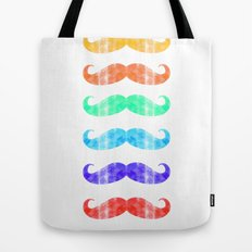 Moustache you a question!  Tote Bag